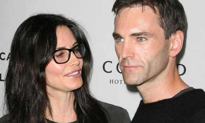 irish wedding for courteney cox
