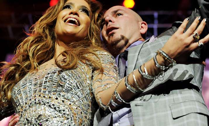 jlo fumes up new single with pitbull