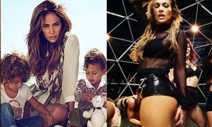 jennifer lopez s kids urged her to record big b ty song