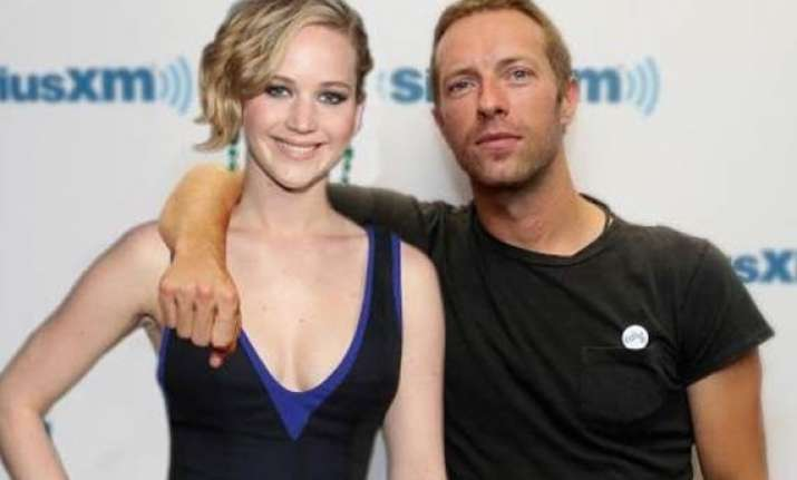 jennifer lawrence to join chris martin on coldplay s tour