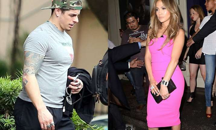 jennifer lopez told casper smart she would make him a star