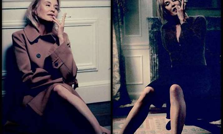 jessica lange in marc jacobs ad
