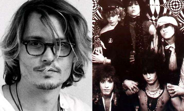 johnny depp gets back with old band rock city angels