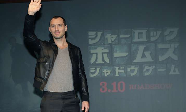 jude law takes sherlock to japan