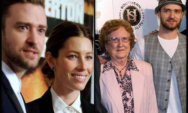 justin timberlake s grandmother worried about his marriage