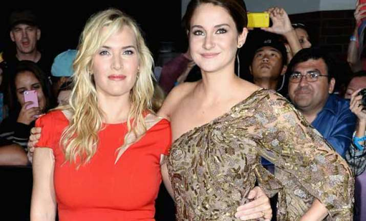 kate winslet finds shailene woodley gorgeous
