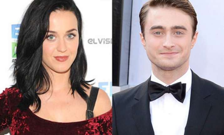 katy perry wants to befriend radcliffe