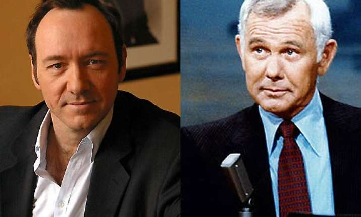 kevin spacey in johnny carson biopic