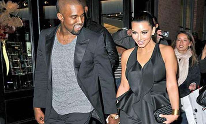 kim kanye argue over baby s care
