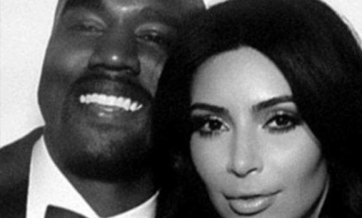 kim kardashian and kanye west lands in ireland for honeymoon