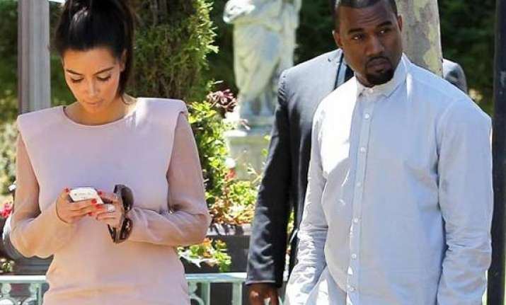 kim s early delivery left kanye nervous