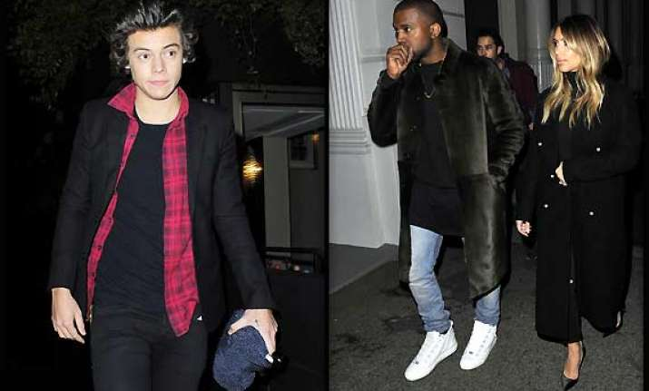 kim kanye wedding harry styles makes it to the guest list