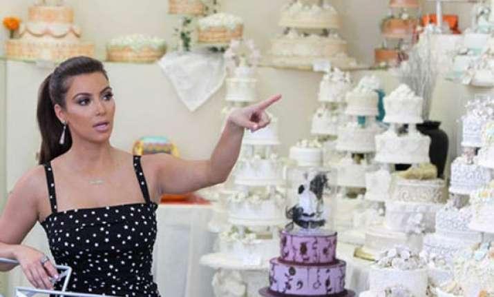 kim kardashian s royal wedding cake