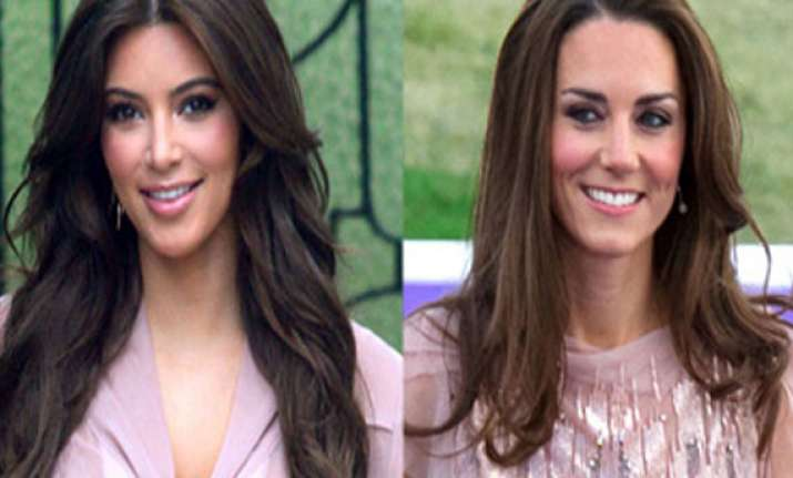 kim wants to have lunch with kate middleton