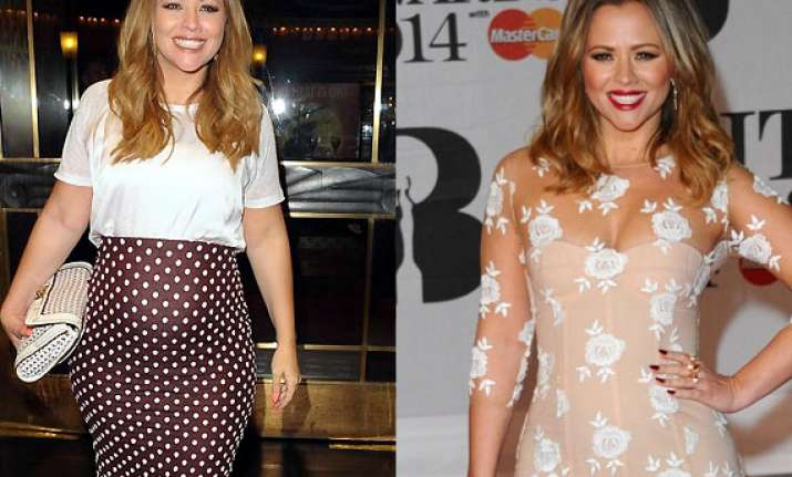 kimberley walsh struggling to stay stylish during pregnancy