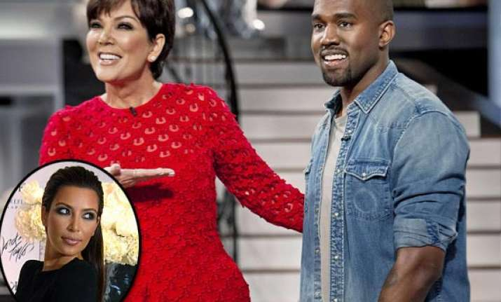 kris jenner wants kim kanye to move out of her house
