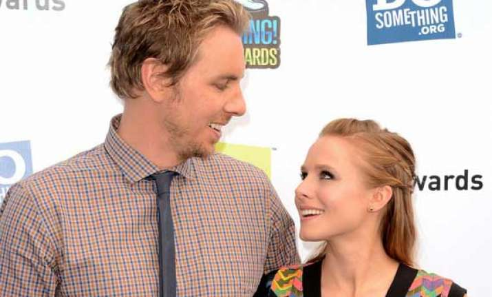 kristen bell marries dax shepard