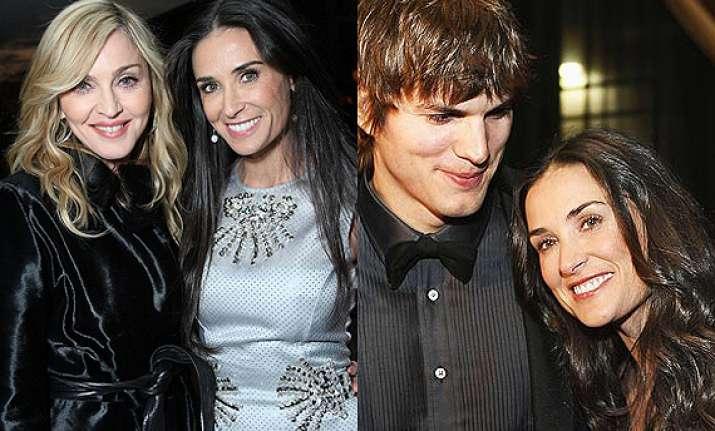 ashton kutcher spoils ex wife demi moore s friendship with