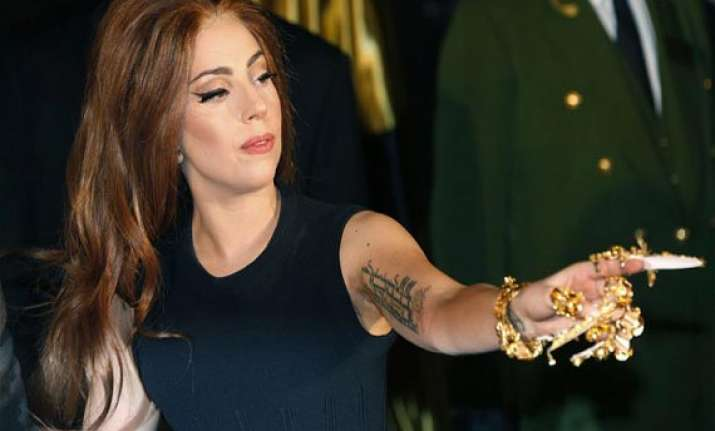 lady gaga says there was a hole in her hip