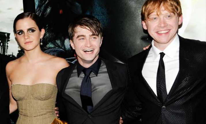 last harry potter film rakes in 168.6 million on weekend