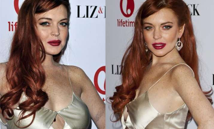 lindsay lohan offered work by strip club