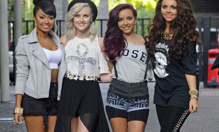 little mix members inspired from 1990 s fashion