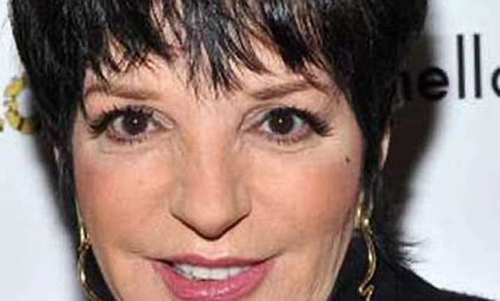 liza minnelli awarded french legion of honour for culture