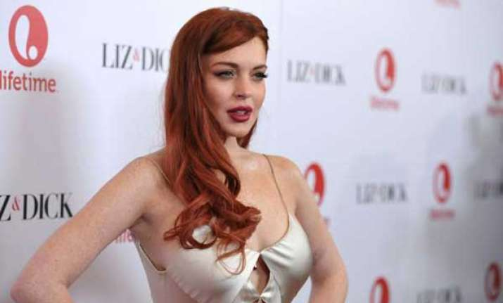 lohan plans quiet new year