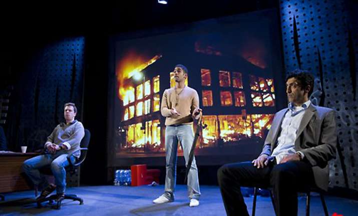london theater turns england s riots into a drama