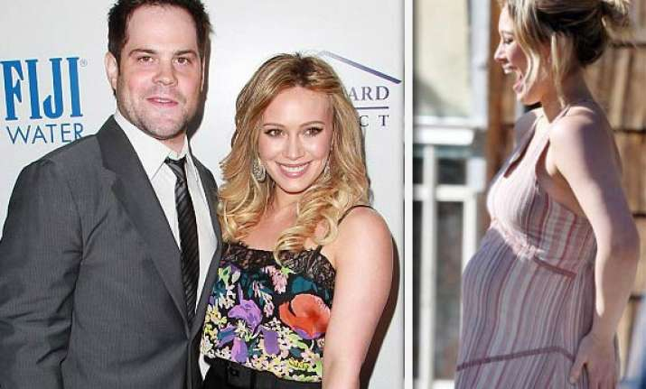 materials girl hilary duff expecting