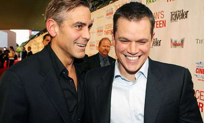 matt damon to be george clooney s best man