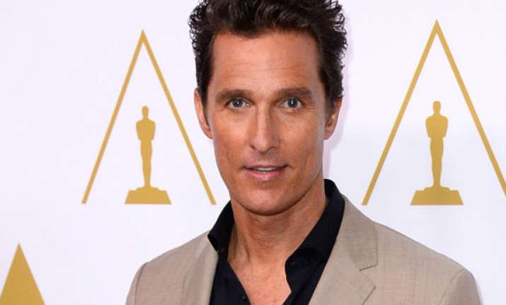 matthew mcconaughey gets loudest cheers at oscars luncheon