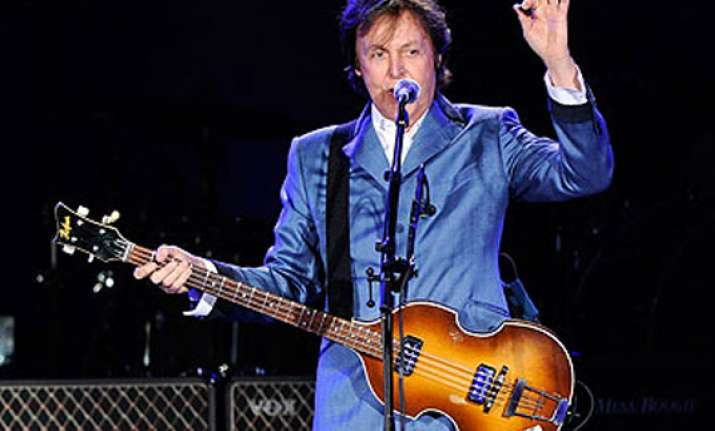 mccartney to stage charity gig for sandy victims