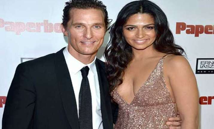 mcconaughey alves name their son livingston