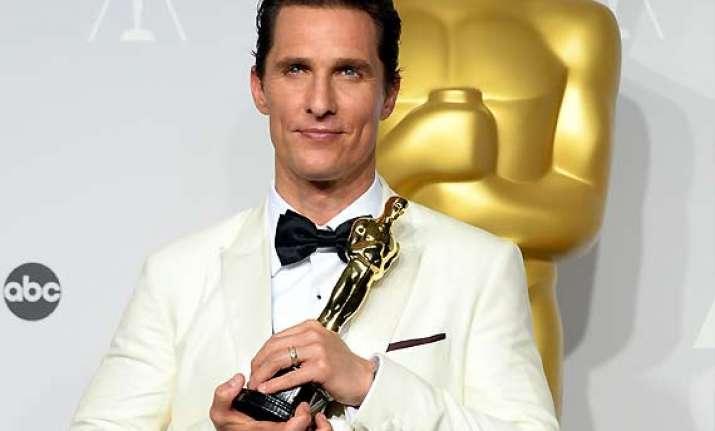 mcconaughey wins best actor oscar for dallas buyers club