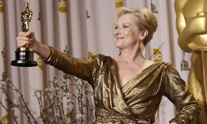 meryl streep wins 3rd acting oscar for iron lady