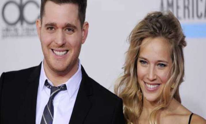 michael buble becomes a father