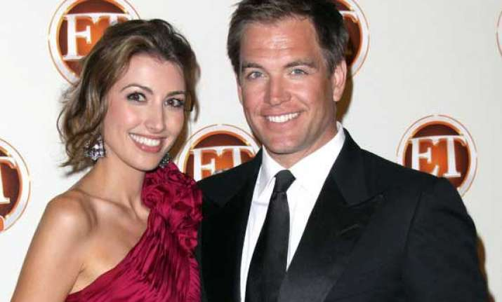 michael weatherly blessed with a baby boy