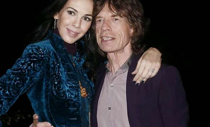 mick jagger visits scott s favourite holiday island