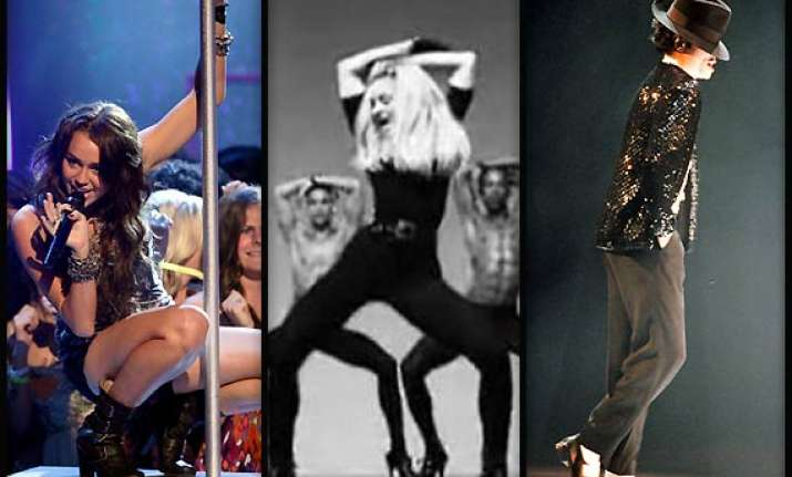 miley cyrus wins celebrity dancing poll beats madonna and