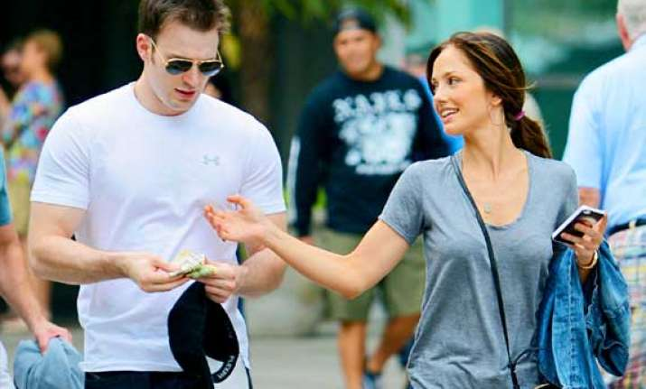 minka kelly chris evans part ways again