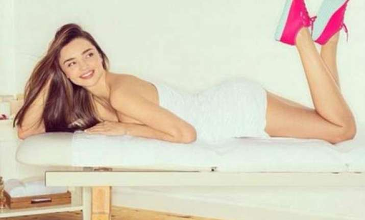 miranda kerr goes all bares for commercial see pics