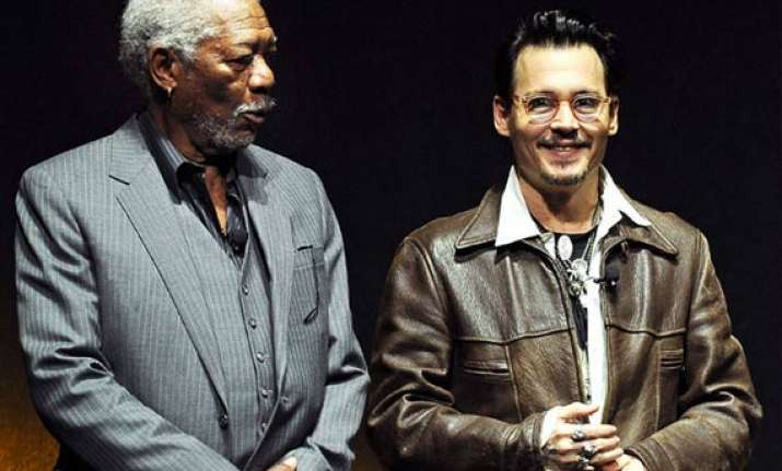 morgan freeman excited to work with his favourite actor depp