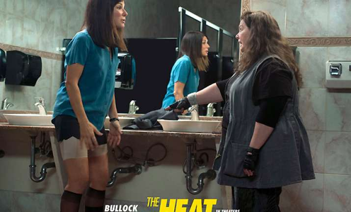 movie review the heat lukewarm frothy potboiler