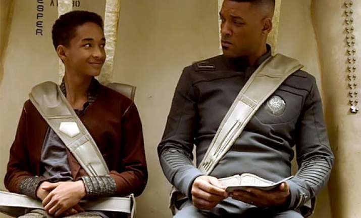 movie review after earth jaden smith shines in sci fi drama