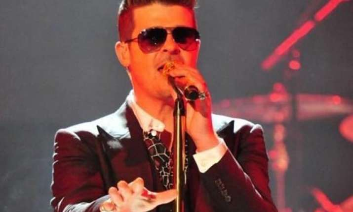 music is therapeutic for robin thicke
