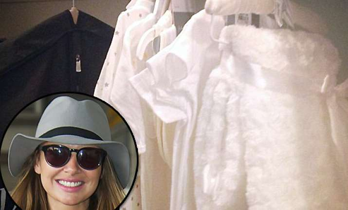 nadine coyle in talks over clothing line for babies