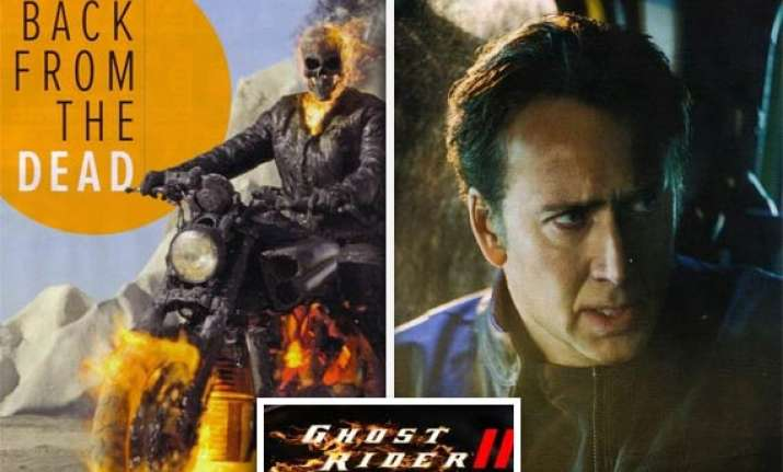 nicolas cage s ghost rider inspired by snakes