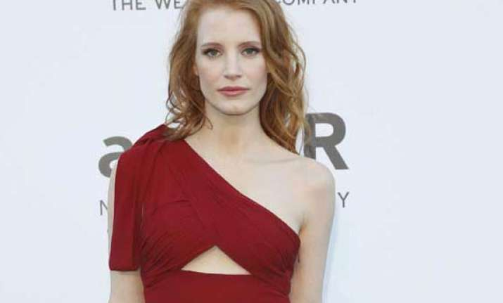 not playing hillary clinton role jessica chastain