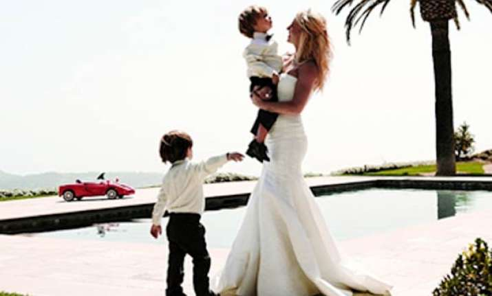 not expecting third baby says britney spears
